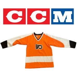 Vintage CCM Flyers Jersey - Youth Large